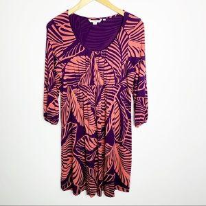 Boden Dress Tropical Hawaiian Print